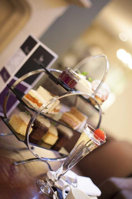 Afternoon Tea served at the White Hart Hotel in Lincoln